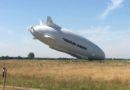 La aeronave más grande del mundo se estrella
