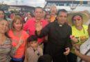 El Padre Lenin Bastidas es recibido por cientos de vallepascuenses
