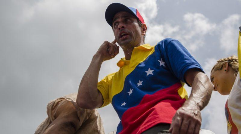 """Capriles: Próximas manifestaciones en Venezuela serán """"sorpresa"""""""