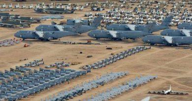 Alertan tiroteo en Base de la Fuerza Aérea de Arizona