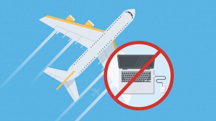 EE.UU. prohíbe volar con dispositivos electrónicos en cabina desde varios países