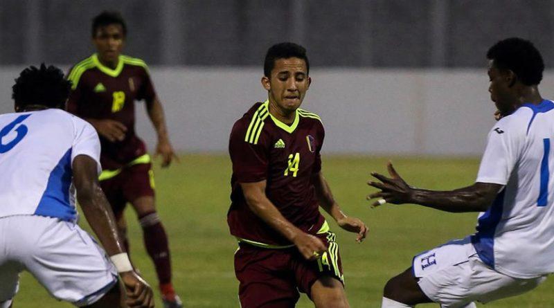 Vinotinto empató de nuevo con Honduras en amistoso previo al Sub 20 de FIFA