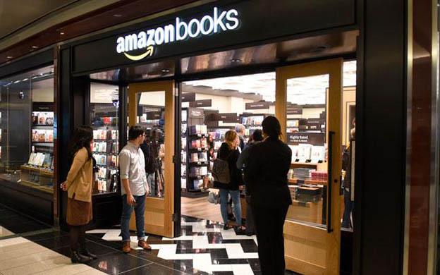 Amazon abre su primera librería física en Nueva York