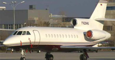 El avión de Pdvsa en el que viajó Jorge Rodríguez a México está rodeado de polémica