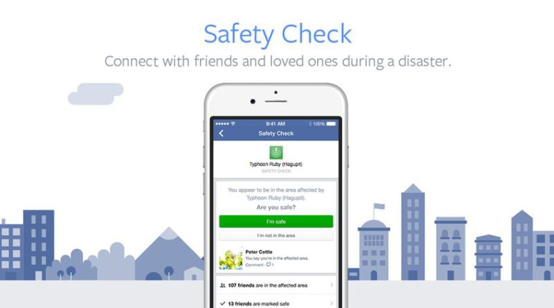 Facebook activa Safety Check en México tras sismo