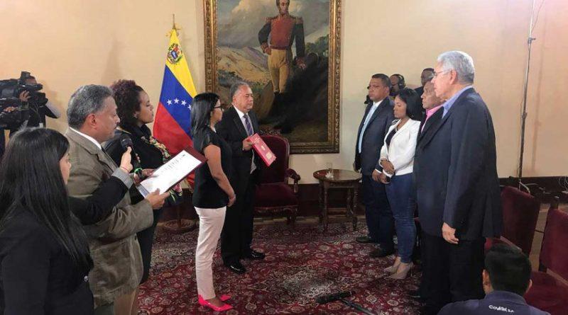 Gobernadores de Acción Democrática se juramentaron ante la ANC