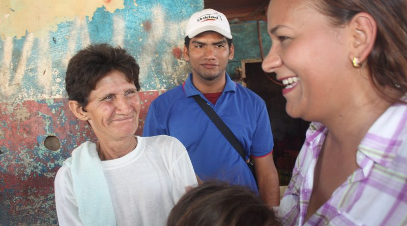 La candidata de UNT a la Alcaldía de La Villa del Rosario dio inicio a la campaña electoral,
