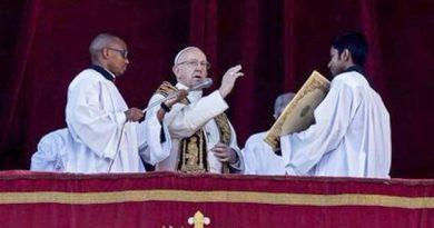 El Papa por Venezuela en su mensaje de Navidad