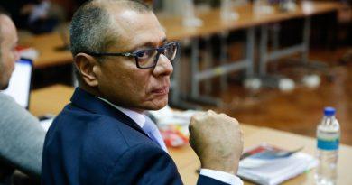 Vicepresidente de Ecuador es condenado a 6 años de cárcel por caso Odebrecht
