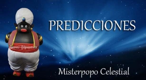 Predicciones Cumplidas de Misterpopo Celestial @antenax2 #22Dic