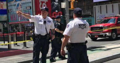 Nueva York recibirá el 2018 con celebración caracterizada por la extrema seguridad