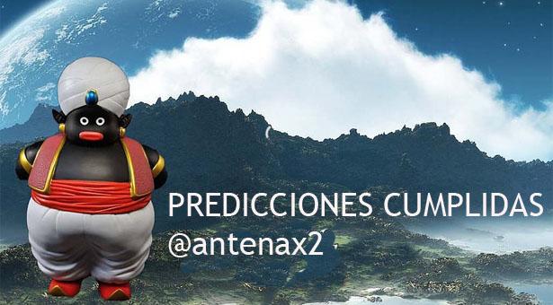 Predicciones Cumplidas de Misterpopo Celestial @antenax2 #15Dic
