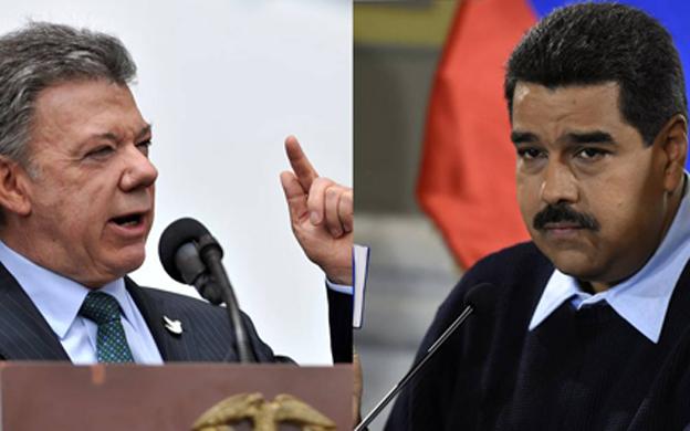 Santos dice a Maduro no usarlo para tapar fracaso de revolución