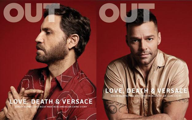 Ricky Martin y Édgar Ramírez protagonizan portada de OUT