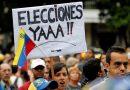 """""""72 % de los venezolanos apoya adelantar las elecciones presidenciales"""""""