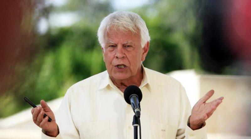 Felipe González: Venezuela tiene el peor gobierno de su historia
