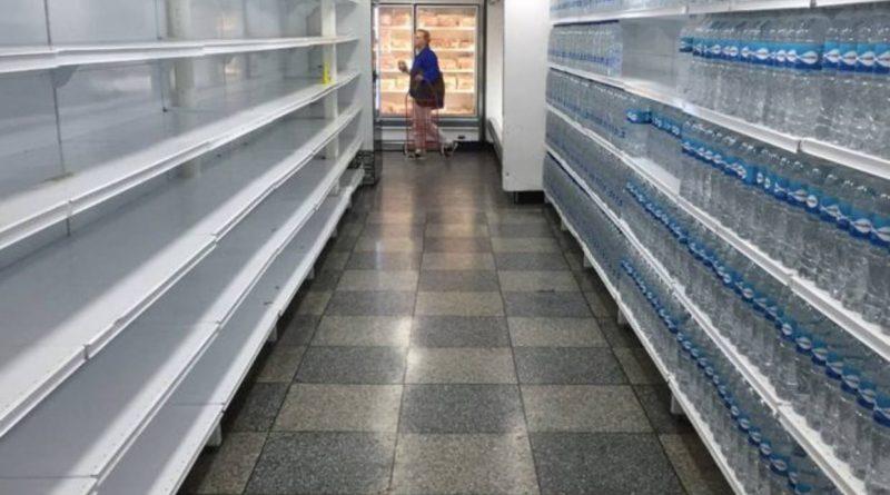 supermercados de Venezuela ahora están semivacíos