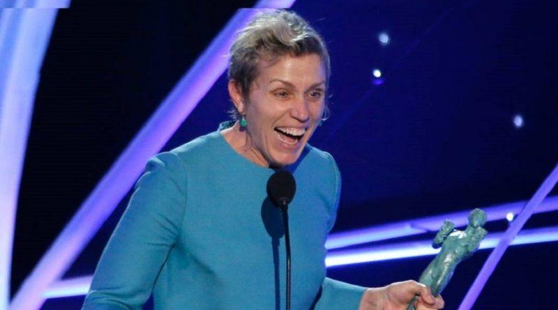 """""""Tres anuncios por un crimen"""" triunfa en los SAG Awards"""