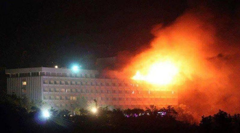 Reportan ataque contra el hotel Intercontinental de Kabul