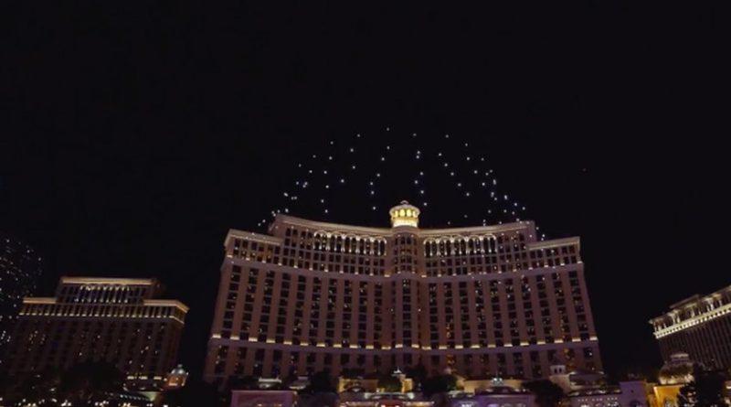 Con 250 drones se realizó un increíble espectáculo de luces en Las Vegas
