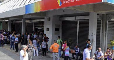 Banco de Venezuela suspende todos sus servicios