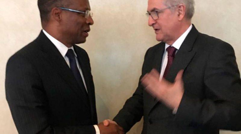 Antonio Ledezma se reunió con primer ministro africano