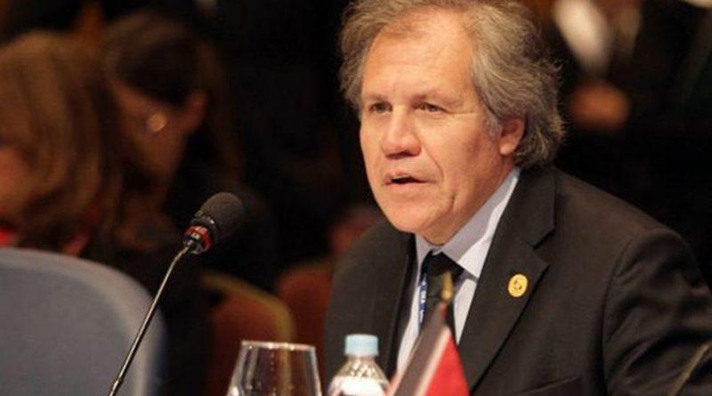 Almagro pide a comunidad internacional más sanciones contra Venezuela