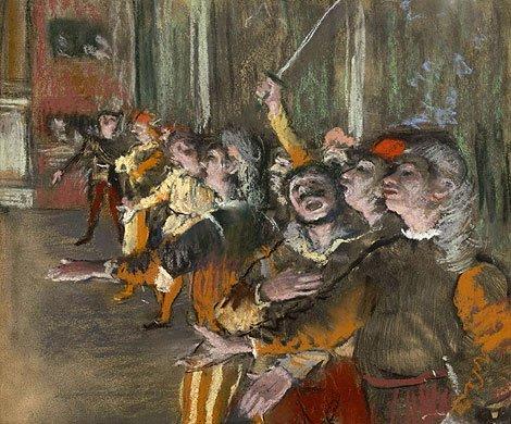Encuentran en un autobús cerca de París un cuadro de Degas robado en 2009