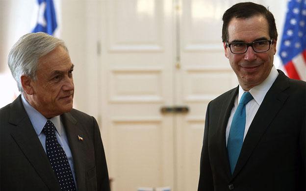 Chile y EEUU discuten nuevas sanciones para Venezuela