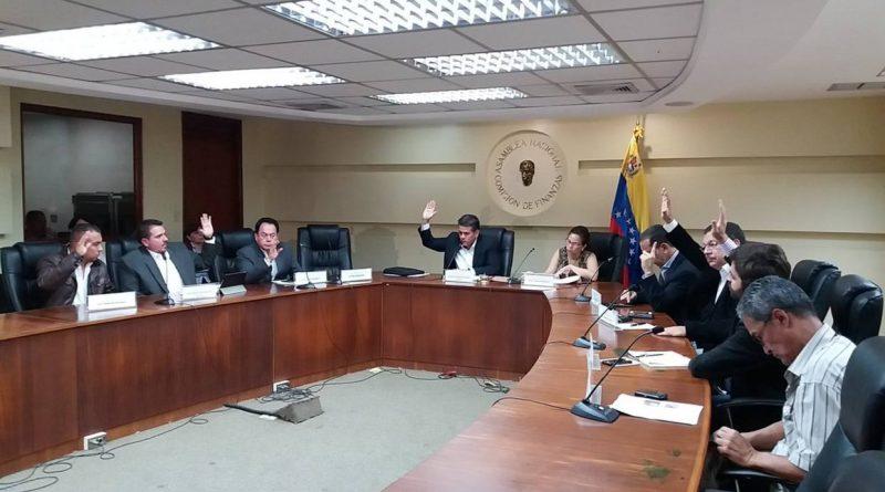 Comisión de Finanzas de la AN propondrá ampliación del cono monetario