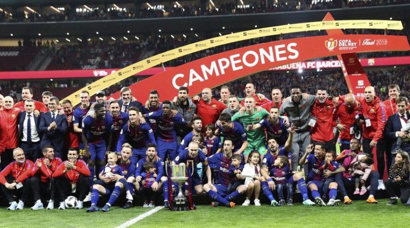 El Barcelona gana la Copa del Rey tras golear al Sevilla