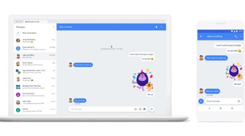 Chat: La nueva estrategia de Google para derrocar a Whatsapp
