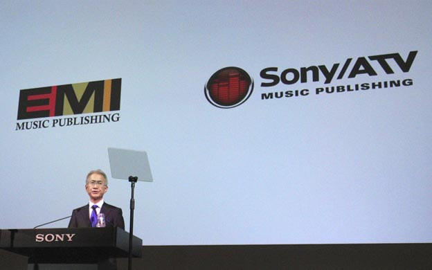 SONY compra EMI Music por 1.700 millones de euros