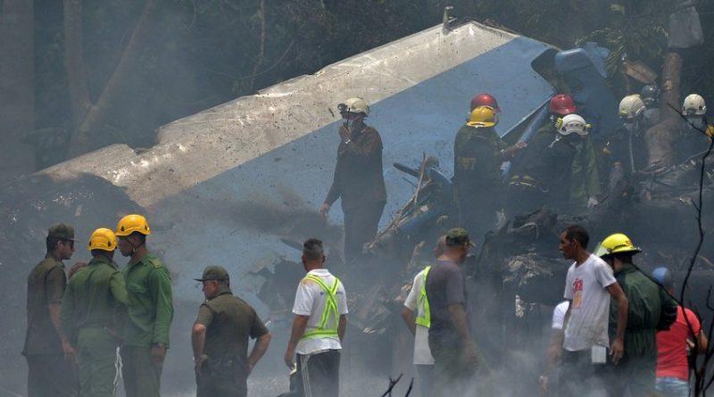 Falleció la segunda sobreviviente del accidente aéreo en Cuba