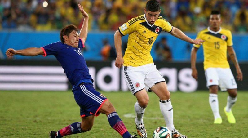 Colombia y Japón disputarán el primer juego del grupo H en Mundial de Rusia