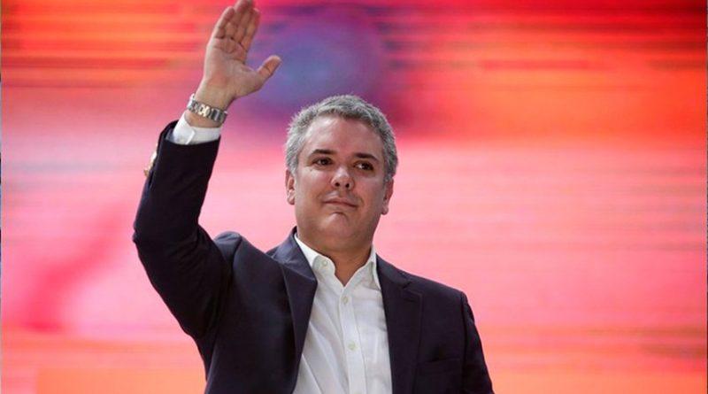 Iván Duque resultó electo presidente de Colombia con más de 10 millones de votos este 17 de junio