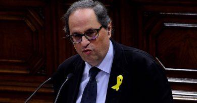 El presidente catalán recibió a su homólogo de la región belga de Flandes Geert Bourgeois
