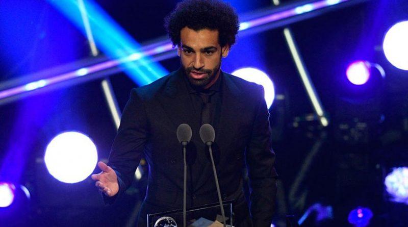 Mohamed Salah se llevó el premio The Best al mejor gol