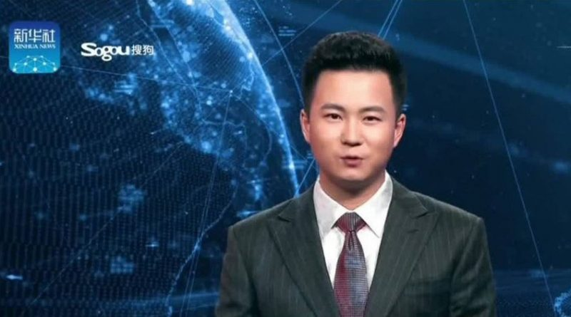 Robots con inteligencia artificial leen noticieros en China
