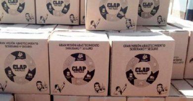 Cajas Clap repartidas por el régimen de Venezuela contienen sólo productos internacionales  0
