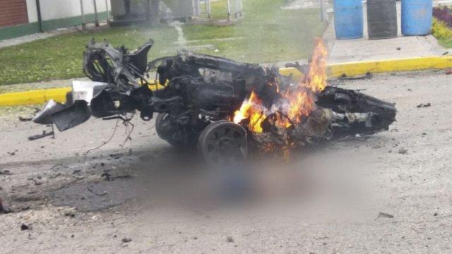 Atentado con carro bomba en la Escuela de Policía de Bogotá deja nueve muertos (imágenes)