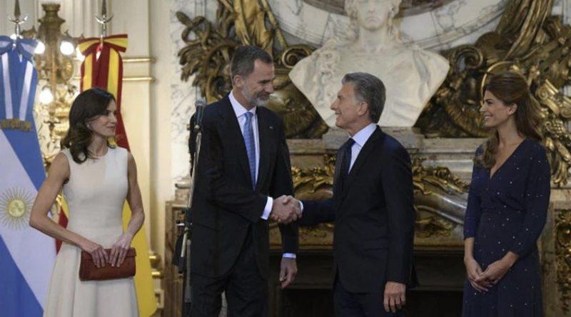 Felipe VI ratifica el apoyo de España a las reformas económicas de Macri