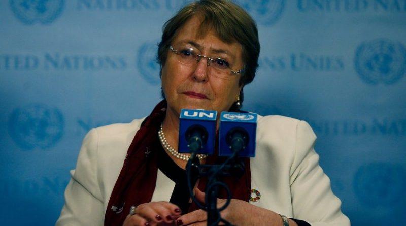Michelle Bachelet : llega hoy a Venezuela