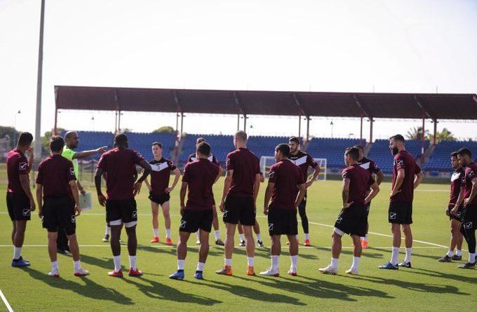 La Vinotinto entrena duro pero no da luces sobre su estrategia contra Argentina