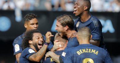 Real Madrid inicia la temporada con victoria ante Celta de Vigo