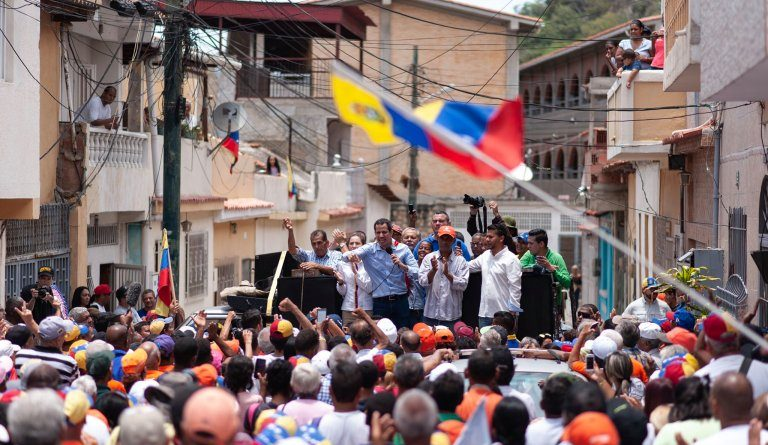 Guaidó confirma reicorporación al Tiar y dice que puede haber cooperación (VIDEO)