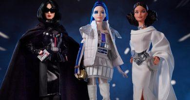 Barbie viaja hasta la galaxia de Star Wars en una nueva colección