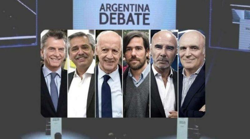 EN VIVO#DebateAr2019 Primer Debate Presidencial – Paraninfo de la Universidad Nacional del Litoral..