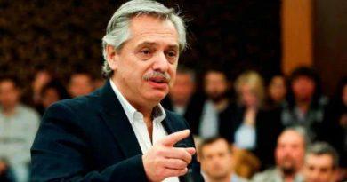 Alberto Fernández no reconoce a Áñez como mandataria interina de Bolivia