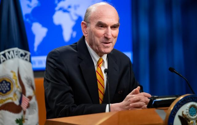 Abrams: El uso de la fuerza depende del presidente Trump, no de Juan Guaidó